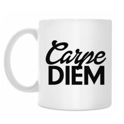 Кружка Carpe Diem Живи настоящим
