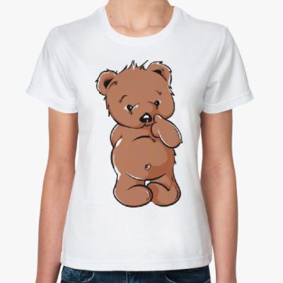 Классическая футболка Медвежонок