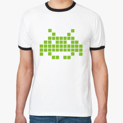 Футболка Ringer-T Space Invaders