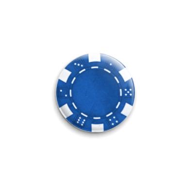 Значок 25мм Blue Caps