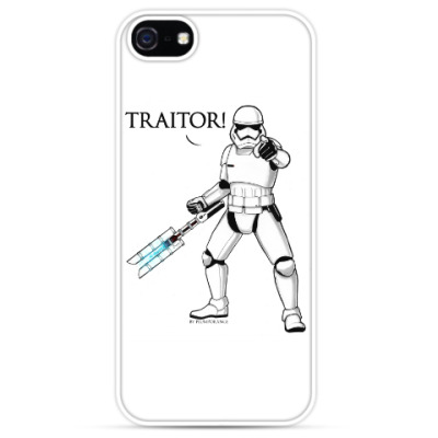 Чехол для iPhone 'Traitor!'