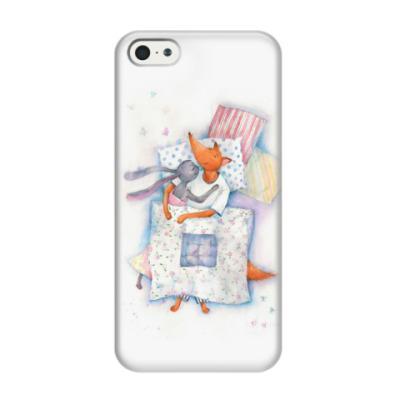Чехол для iPhone 5/5s Уют под одеялом