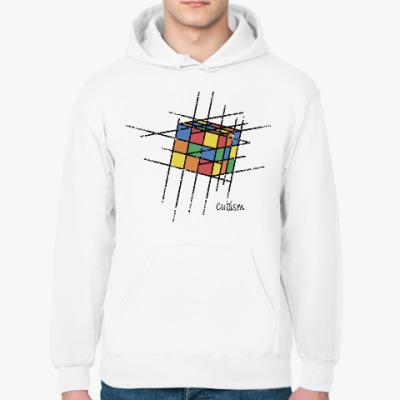 Толстовка худи Кубик Рубика   Rubiks Cube