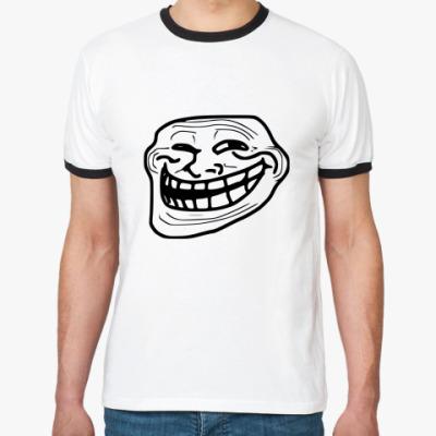 Футболка Ringer-T Trollface(Б.Р.)