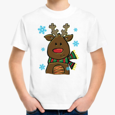 Детская футболка Маленький олень