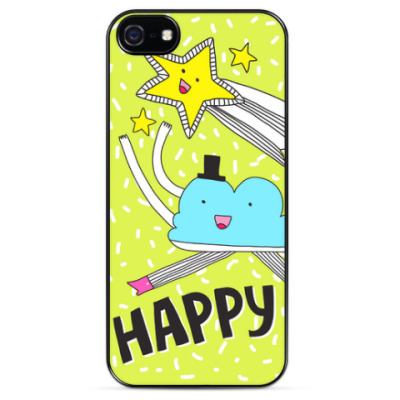 Чехол для iPhone Happy