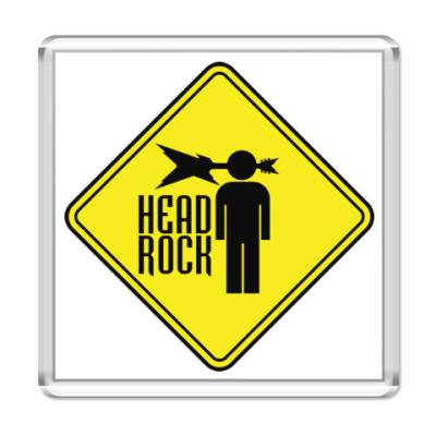 Магнит Рок в голове