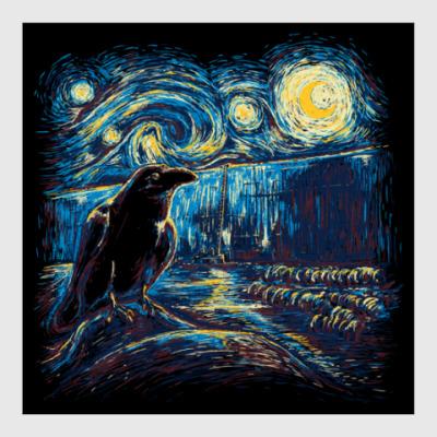 Постер Ночной дозор (Винсент Ван Гог)