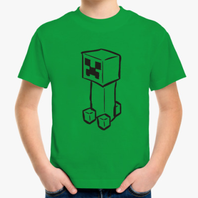Детская футболка 'Creeper'