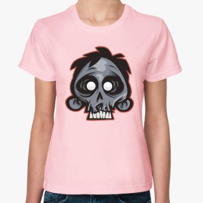 Женская футболка Crazy Monkey
