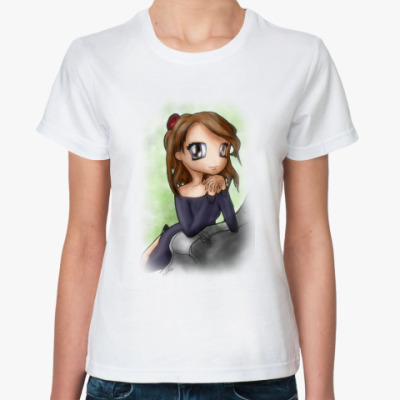 Классическая футболка Чиби