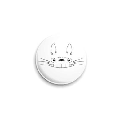 Значок 25мм  'I'm Totoro!'