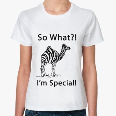 Классическая футболка Special