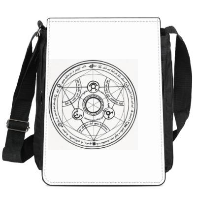 Сумка-планшет  Human Transmutation Circle (Стальной алхимик)