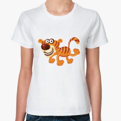 Классическая футболка Тигрёнок