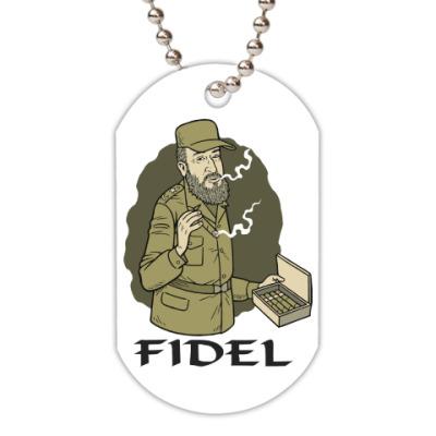 Жетон dog-tag Fidel