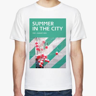 Футболка Мужская футболка Summer in the City — гирлянда