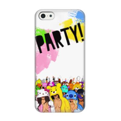 Чехол для iPhone 5/5s party девочки и мальчики