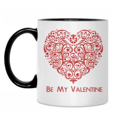 Кружка Be My Valentine