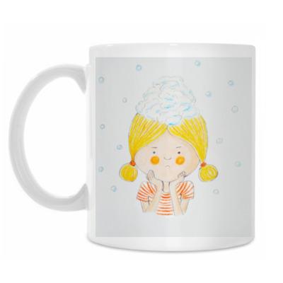 Кружка Снежная девочка