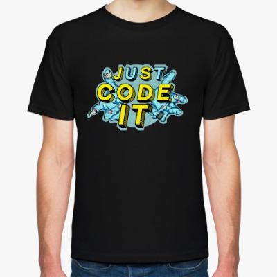 Футболка JS code