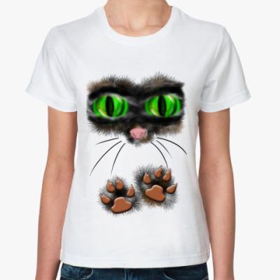 Классическая футболка Киса