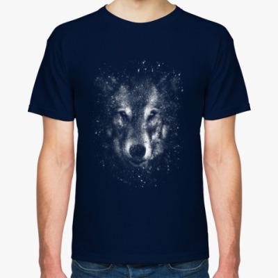 Футболка Звездный волк