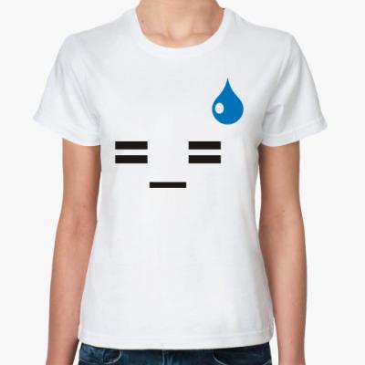 Классическая футболка эмотикон