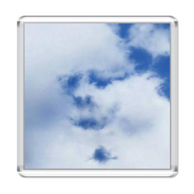Магнит  'Облака-лица'