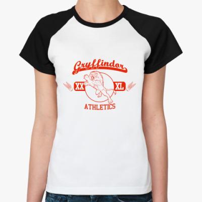 Женская футболка реглан Gryffindor  Жен