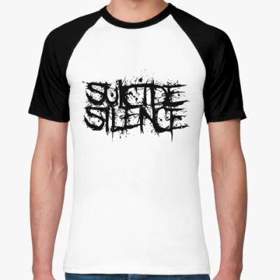 Футболка реглан Suicide Silence  Муж