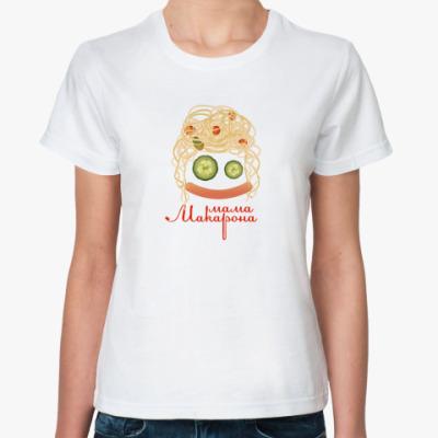 Классическая футболка MAMA MAKARONA