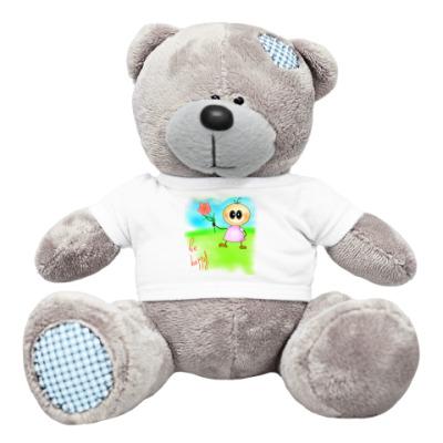 Плюшевый мишка Тедди Бебешка