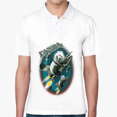 Рубашка поло Панды атакуют