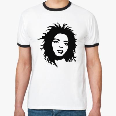Футболка Ringer-T Lauryn Hill