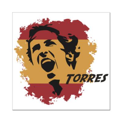 Наклейка (стикер) Торрес
