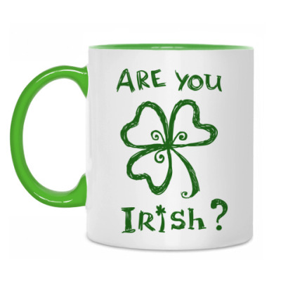 Кружка Are you Irish?