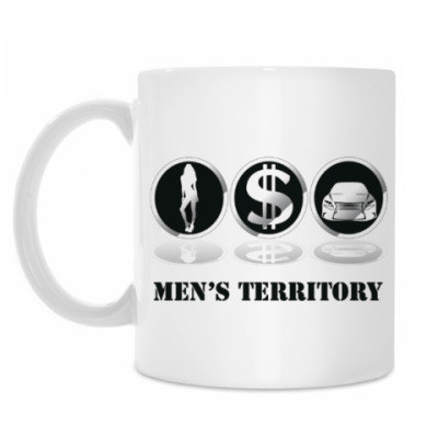 Кружка Men's territory