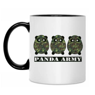 Кружка Panda Army