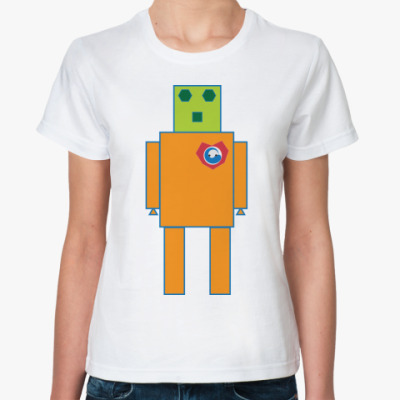 Классическая футболка Love Robot
