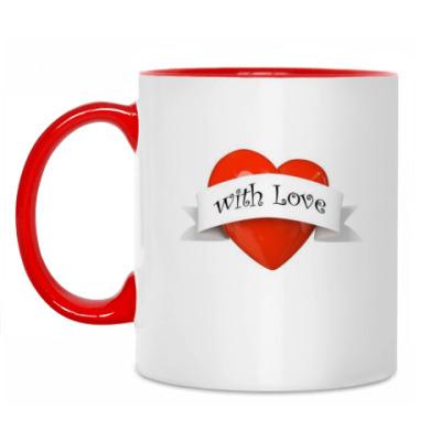 Кружка 'With love'