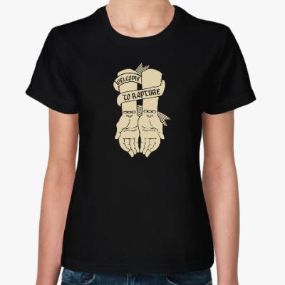 Женская футболка BioShock Welcome to Rapture