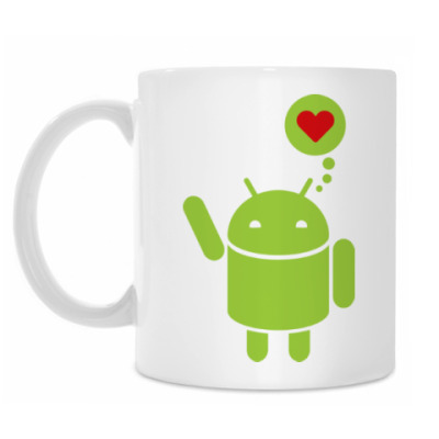 Кружка Love Android