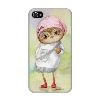 Чехол для iPhone 4/4s Модница