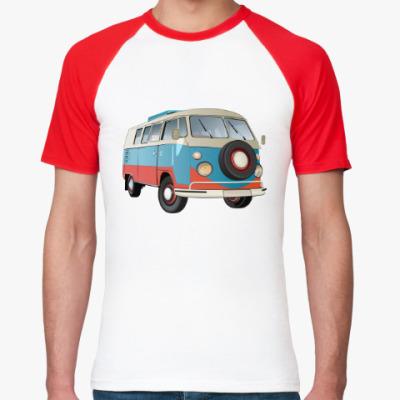Футболка реглан VW Kombi Camper