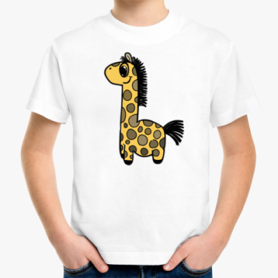 Детская футболка Жирафик-Детская футболка
