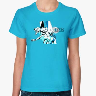 Женская футболка Evangelion