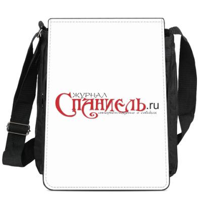 Сумка-планшет Логотип журнала 'Спаниель'