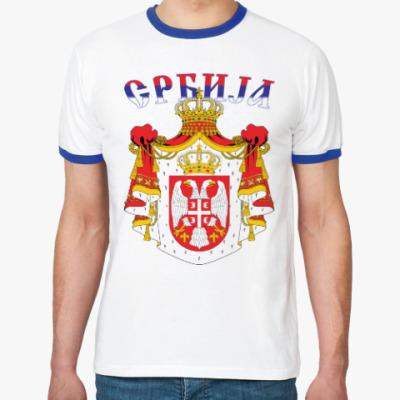 Футболка Ringer-T Сербия