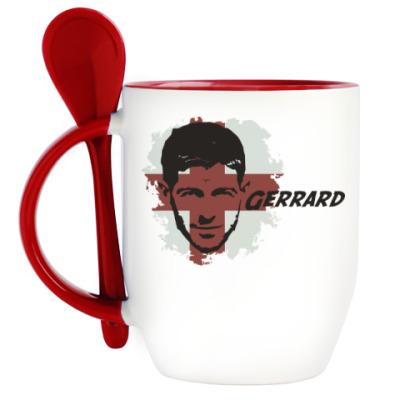 Кружка с ложкой Джеррард